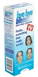 Bye Bye Blemish drying lotion