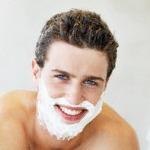 shaving pimples
