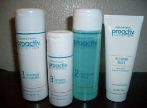 Proactiv skin care kit